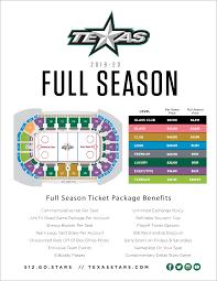 Season Tickets Texas Stars