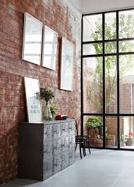how to decorate exposed brick walls