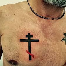 Croceortodossa Crocerussa Tattoo Crocetattoo La Croce Russa O