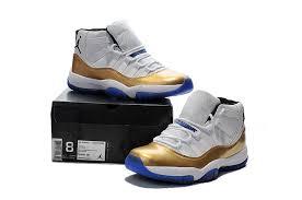jordan shoes 2016 gold. new air jordan 11 white gold blue sole shoes,jordan shoes for cheap,best value 2016