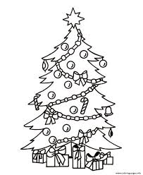 Small Picture christmas tree and present Coloring pages Printable