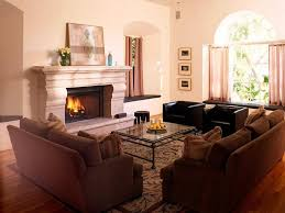 Good Looking Normal Living Room With Fireplace Engaging Gallery Of