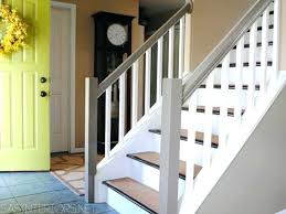 wood stairs ideas staining and painting ideas for wooden stairs