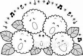 あじさいイラストなら小学校幼稚園向け保育園向けのかわいい無料