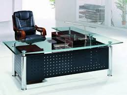 desk workstation l shaped glass desk office making cover home for top ologymobile with bookcase