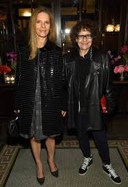 ingrid sichy right with her wife sandra brant at a chanel dinner in april