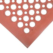 Kitchen Fatigue Floor Mat Cactus Mat 2530 R5bx Vip Topdek Junior 3 X 5 Red Rubber Grease