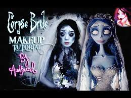 corpse bride halloween makeup tutorial audfaced