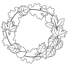 Spring Leaves Coloring Pages With Fall Best For Kids Printable