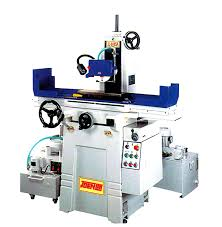 rotary surface grinder. generally, a rotary surface grinder with horizontal spindle is used for precision grinding very flat, fine finish. peripheral grinders are on