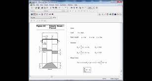 Beam Design Formulas Mathcad Beam Design Formulas 10