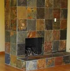 Slate Tile Fireplace Surround Custom Photography Home Office By Slate Fireplace