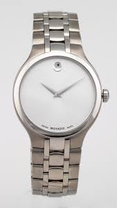movado watches 369 for movado men s watch stainless steel band silver dial 0606450 895 list price