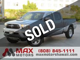 2012 Used Toyota Tacoma 2WD Double Cab LB V6 PreRunner w/ TRD ...