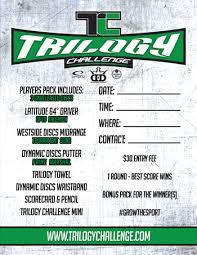 2016 Trilogy Challenge Discs Lat 64 Falchion Westside