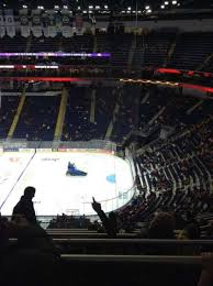 Centre Videotron Section 329 Row Aa Seat 17 Home Of