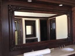 wood mirror frame. Custom Mirror Wood Frames Rancho Santa Fe Frame