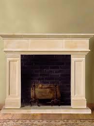 hampton cast stone fireplace mantel indoor fireplaces