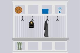 How To Hang A Coat Rack On A Wall Unique The Height On A Wall To Hang A Coat Rack Hunker