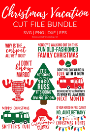 With christmas only a few weeks away, chicago resident clark griswold decides it is time to get a christmas tree. Christmas Vacation Cut File Bundle Kelly Leigh Creates
