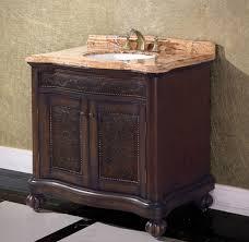 legion 36 inch antique single bathroom vanity dark walnut finish