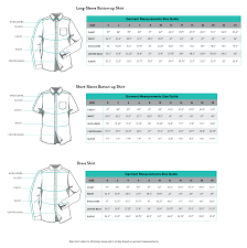 Fit And Size Guide Shirts Kirrin Finch