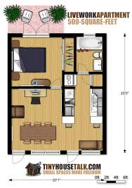 small floor plans. Small Apartment Design For Live/Work: 3D Floor Plan And Tour Plans S