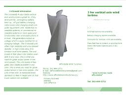 about 3 kilowatt vertical axis wind turbine from affordable wind turbines