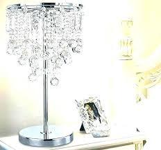 bedside chandelier lamps vintage crystal chandelier bedside table lamp
