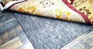 rug pad for hardwood floor why use on your area rugs refined felt floors