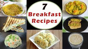 Light Tiffin Recipe 7 Breakfast Recipes Part 1 Indian Breakfast Recipes Healthy And Quick Breakfast Recipes