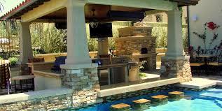 backyard pool bar. AMS Landscape Design Studios Newport Beach, CA. A Swim-up Bar Backyard Pool Y
