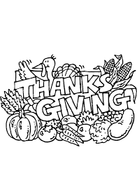 Small Picture Thanksgiving Coloring Pages Pdf Coolagenet