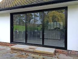 wakefield sliding patio door installation by marlin windows