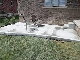 plain concrete patio. Perfect Concrete Plain Concrete Patio Inside