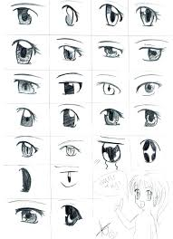 How To Draw Eyes Step By Step Easy Chibi Navenbyarchaeologygroup Org