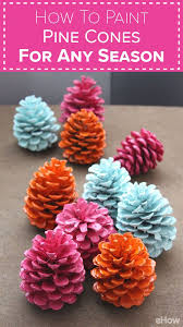 Christmas Crafts Made With Pine Cones