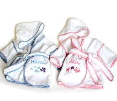 unique personalized baby gifts premium terry bathrobes hooded towels