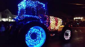 Lighted Tractor Parade Lighted Tractor Parade 2017 Greenwich New York