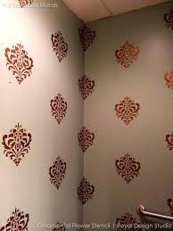 wall stencils design decorative and ornamental flower wall stencils for painting classic designs royal design studio