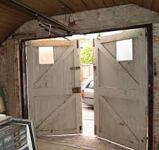 barn door garage doorsSide hinged barn doors  A portfolio of our remote controlled