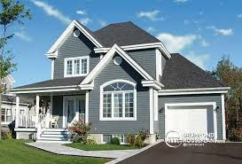 House plan W detail from DrummondHousePlans comfront   BASE MODEL Simple and economical Country house plan    covered porch and