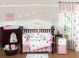 pink valance for nursery baby doll bedding layered window gingham