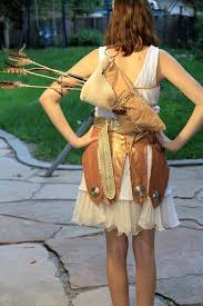 artemis girls costume. three goddess costumes made for halloween. aphrodite, artemis and athena. photo\u0027s courtesy of girls costume s