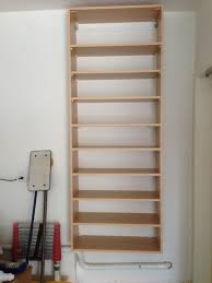 Wall Shoe Rack Simple Wooden Wall Hanging For Shoe Storage Ideas Popular Home