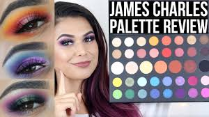 But not everyone is happy about it. James Charles Palette Review And Tutorial X3 Youtube
