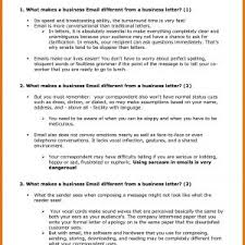 Business Email Letter Format Example New Formal Email Format Example ...