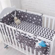 grey star bedding set multi functional baby safe sleeping baby bed pers set soft baby