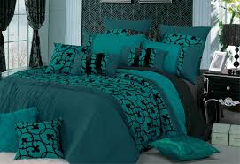 lyde teal quilt cover set in queen king super king size