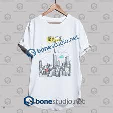 City Studio Dress Size Chart New York City Hand Painted T Shirt Adult Unisex Size S 3xl